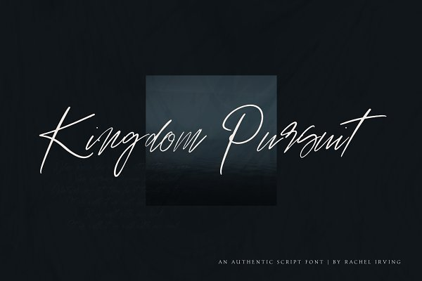 Fonts: Rachel Irving - Kingdom Pursuit | Script Font