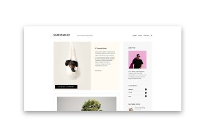 Markus - A Personal Blog Theme