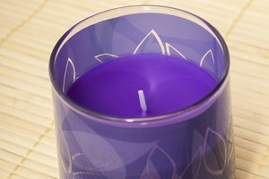 purple candle