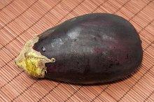 wet eggplant