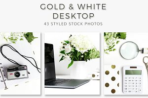 Gold & White Desktop (43 Photos)