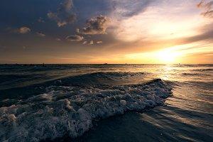 Treasure Island sunset