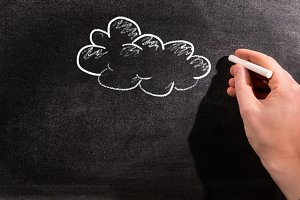 Cloud Education drawing