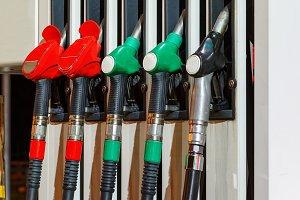 Guns at the gas station
