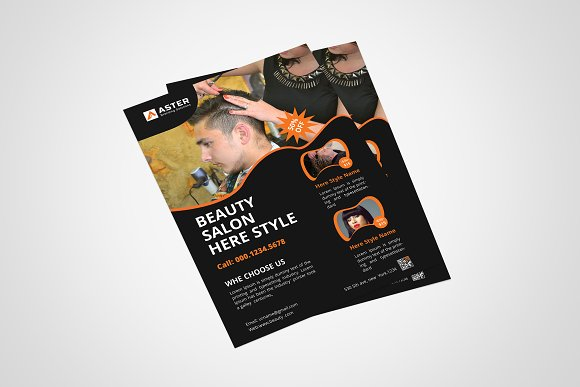 Salon Flyer in Flyer Templates - product preview 1