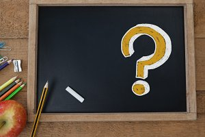 Question Mark on education