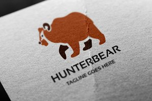 Hunter Bear Logo