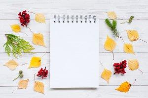 Open blank notebook