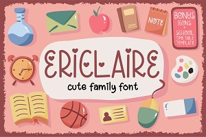 Ericlaire Font