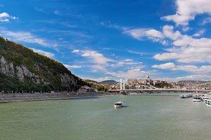Gellert Hill & Danube River,Budapest