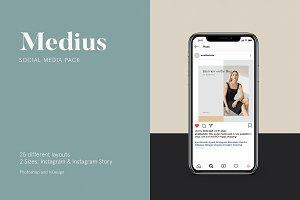 Medius Social Media Pack