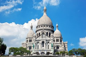 Sacre-Coeur Basilica, Paris, France