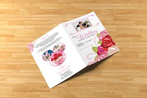Wedding Planner Bi-Fold Brochure