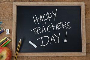 Happy teachers day education
