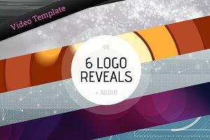 Logo Ident Reveal 6 Pack – AE