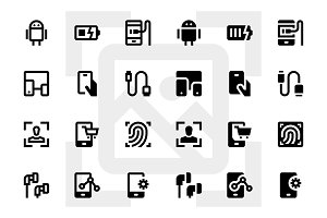 100 Device Icons