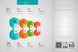 8 Steps Info-graph