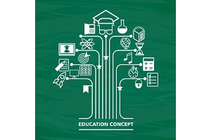education concept green