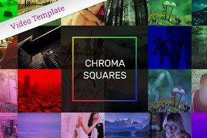 Chroma Squares Slideshow - AE