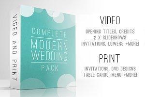 Complete Modern Wedding Pack
