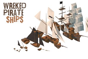 Wrecked Pirate Ships