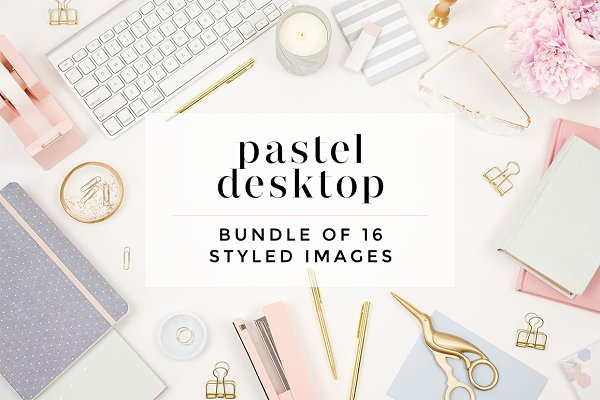Pastel Styled Desktop Bundle