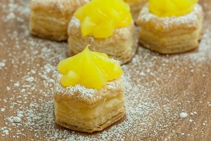 Lemon Filled Pastries