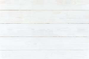 White textured wooden background