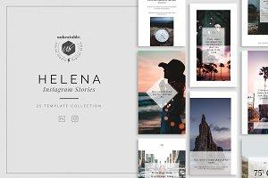 Helena Instagram Stories