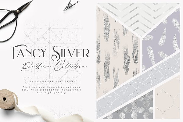 Patterns: Julia Dreams - Fancy Silver Pattern Collection