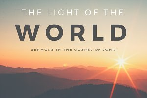 Gospel of John Sermon Title & Slides