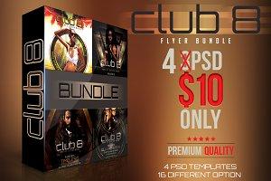 Club 8 Flyer Bundle