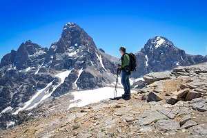 Hiking The Mountain Tops