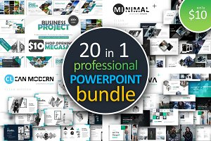 20 in 1 Powerpoint Bundle 95% off