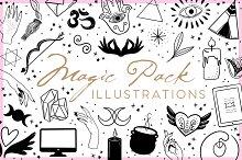 Magic Pack Illustrations