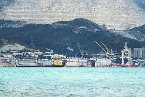 Floating docks, Shipyard, Black Sea