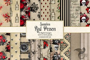 Red Poison Digital Paper