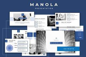 Manola Keynote Presentation