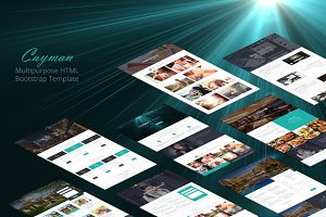 Cayman - HTML Bootstrap Theme