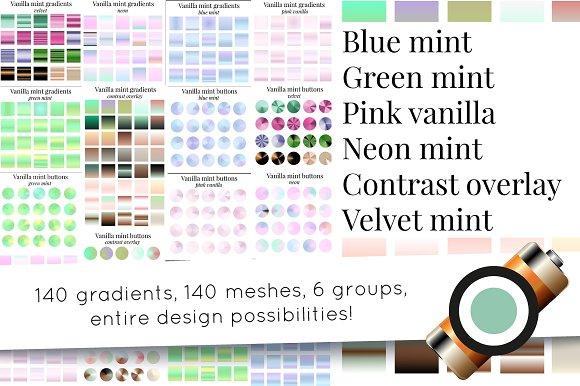 140 gradients and more - vanilla