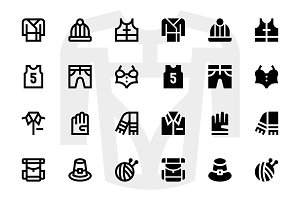 110 Clothes Icons