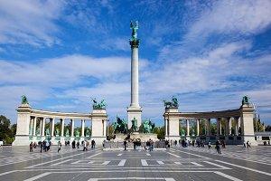The Millennium Monument, Budapest