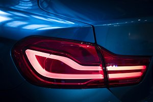 Rear lamp of new cars