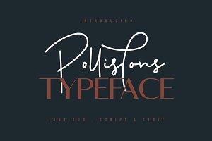 Pollistons Signature Font