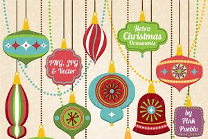 Christmas Ornament Clipart & Vectors
