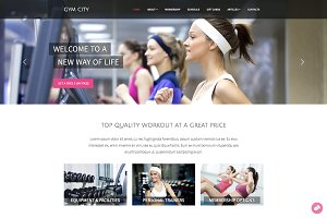Gym City - HTML Template For Gym