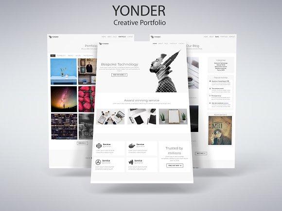Yonder - Creative Portfolio
