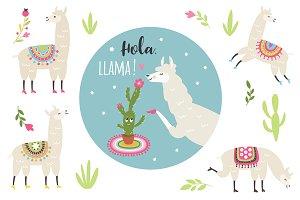 Llamas collection