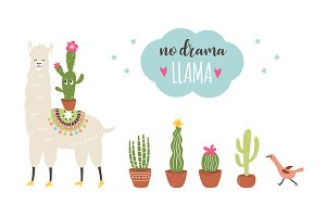 Llamas collection