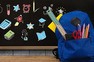 Schoolbag and Education